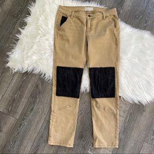 Free people denim jeans watch work rugged